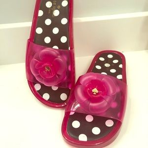 Kate Spade Jelly Slides - 8